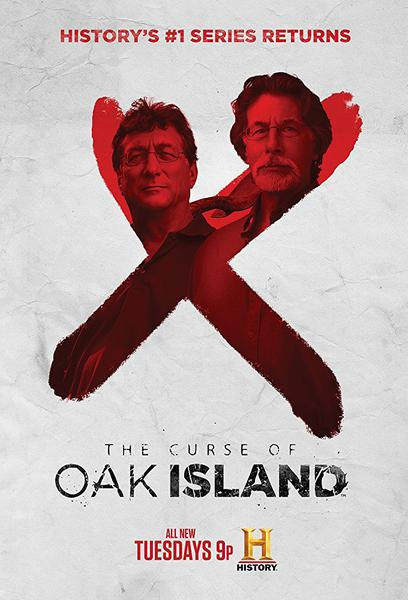 TV ratings for The Curse Of Oak Island in France. History TV series