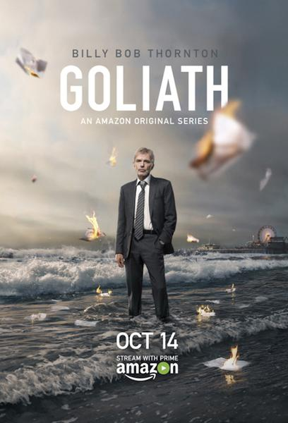 TV ratings for Goliath in New Zealand. Amazon Prime Video TV series