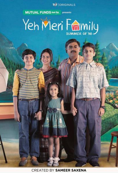 TV ratings for Yeh Meri Family in Denmark. TVFPlay TV series