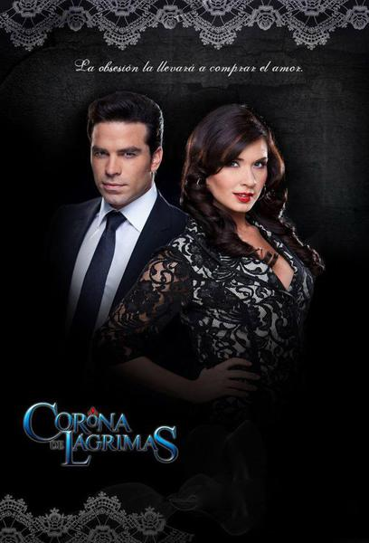 TV ratings for Corona De Lágrimas in Mexico. Canal de las Estrellas TV series