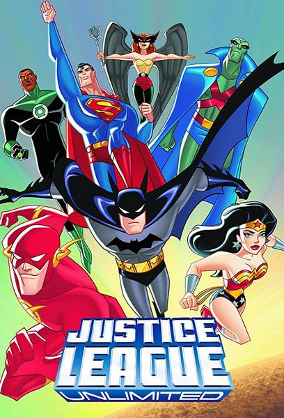 TV ratings for Justice League Unlimited in India. Cartoon Network TV series