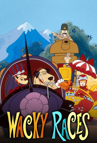 TV ratings for Wacky Races in the United States. CBS TV series