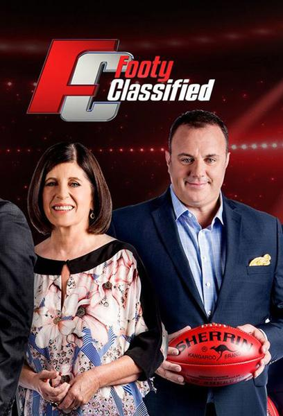 TV ratings for Footy Classified in France. Nine Network TV series