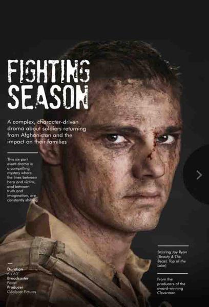 TV ratings for Fighting Season in the United States. Showcase Australia TV series