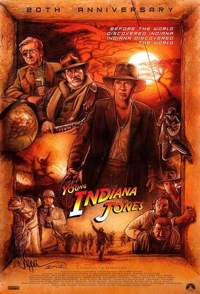 TV ratings for The Young Indiana Jones Chronicles in South Africa. ABC TV series