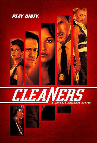 TV ratings for Cleaners in the United States. Crackle TV series