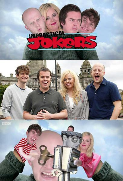 TV ratings for Impractical Jokers Uk in the United States. BBC Three TV series