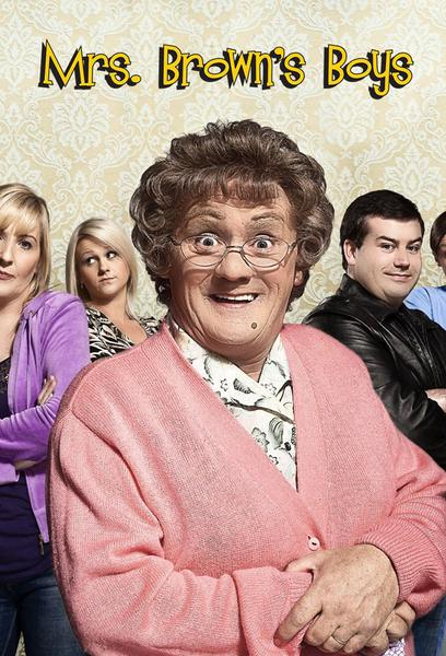 TV ratings for Mrs. Brown's Boys in Brazil. BBC One TV series