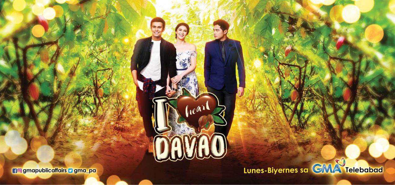 TV ratings for I Heart Davao in India. GMA TV series