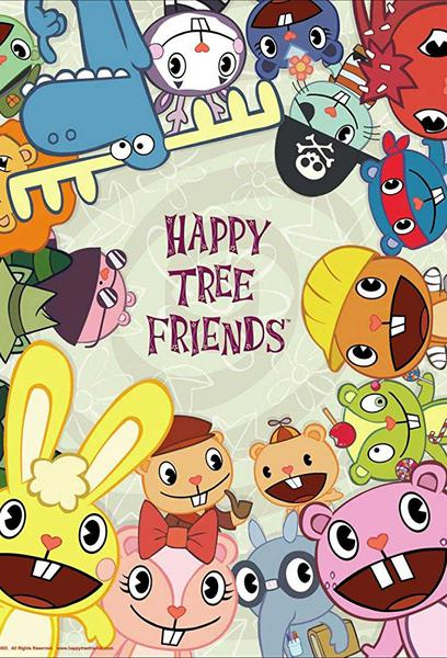 TV ratings for Happy Tree Friends in Denmark. G4 TV series
