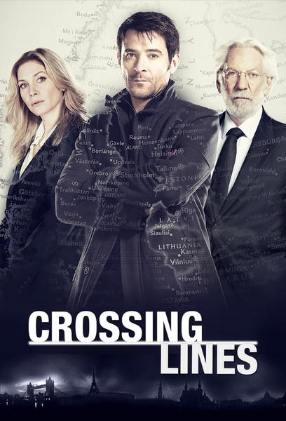 TV ratings for Crossing Lines in Colombia. Sat.1 TV series