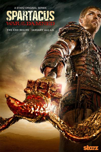 TV ratings for Spartacus: War Of The Damned in India. Starz TV series