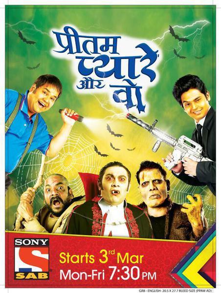 TV ratings for Pritam Pyaare Aur Woh (प्रीतम प्यारे और वो) in India. SAB TV TV series