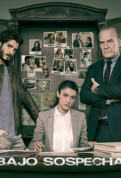 TV ratings for Bajo Sospecha in Denmark. Antena 3 TV series
