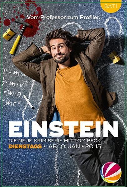 TV ratings for Einstein in the United Kingdom. SAT1 Emotions TV series