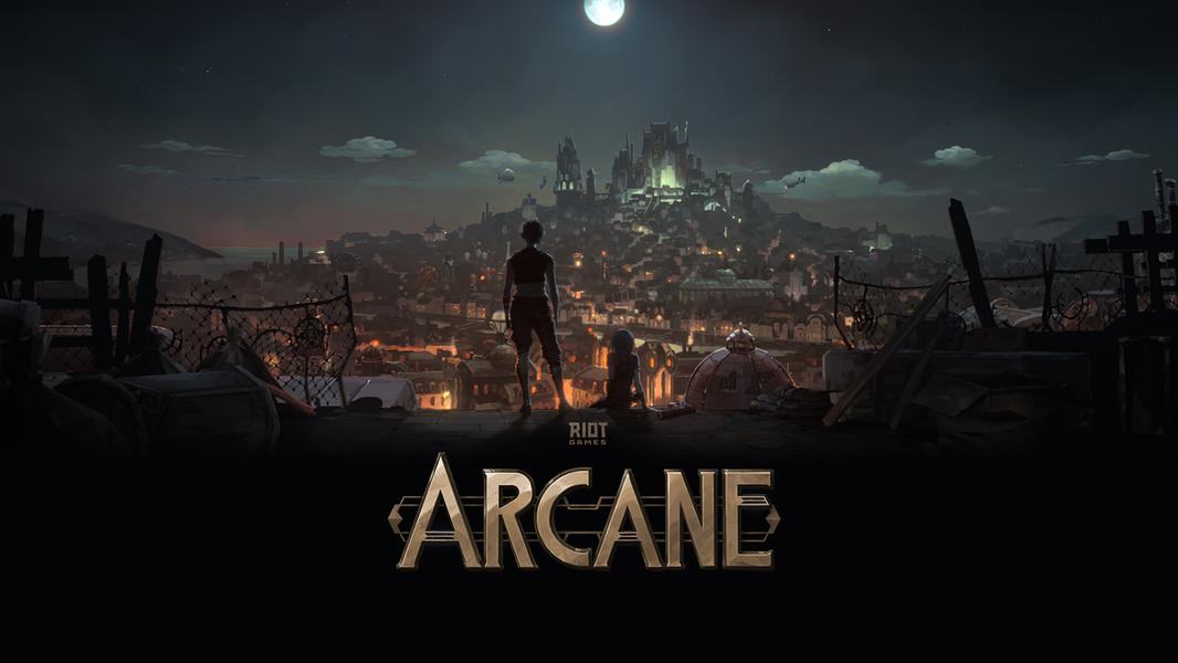 TV ratings for Riot Games' Arcane in Russia. Riot Games TV series