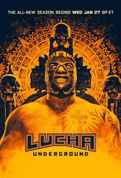 TV ratings for Lucha Underground in the United States. El Rey Network TV series