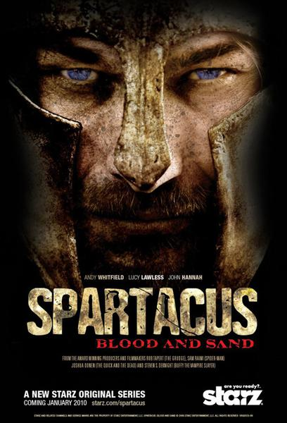 TV ratings for Spartacus in South Africa. Starz TV series
