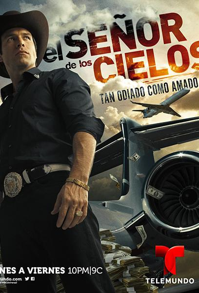 TV ratings for El Señor De Los Cielos in Argentina. Telemundo TV series