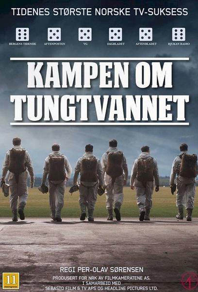 TV ratings for Kampen Om Tungtvannet in Argentina. NRK1 TV series