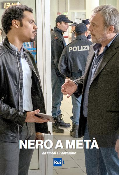TV ratings for Nero a metà in the United States. Rai 1 TV series