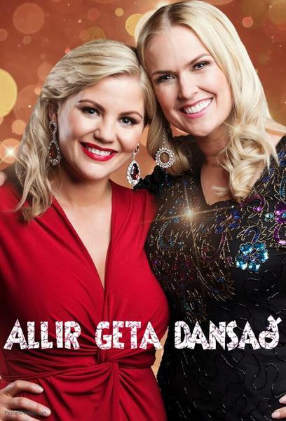 TV ratings for Allir Geta Dansað in Germany. Stöð 2 TV series