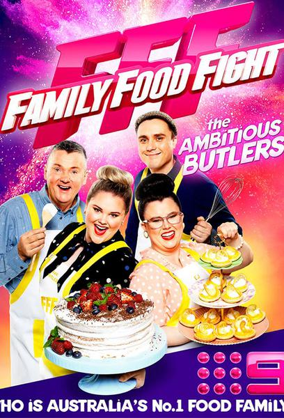 TV ratings for Family Food Fight in Russia. Nine Network TV series