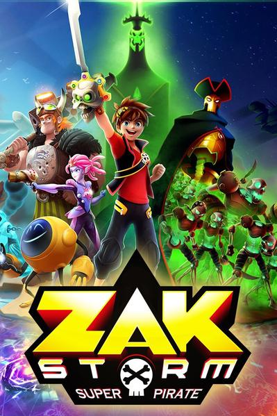 TV ratings for Zak Storm, Super Pirate in the United States. Canal J TV series