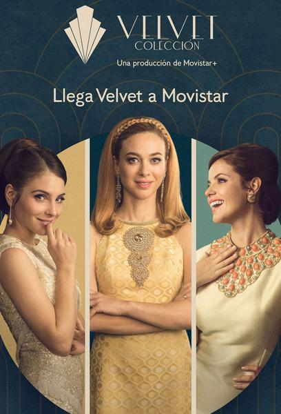 TV ratings for Velvet Colección in Norway. Movistar+ TV series
