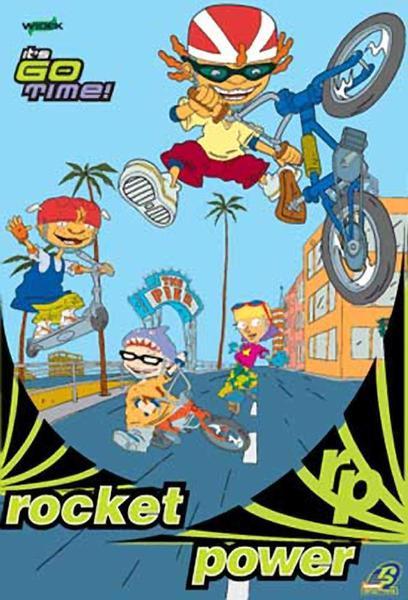 TV ratings for Rocket Power in Denmark. Nickelodeon TV series