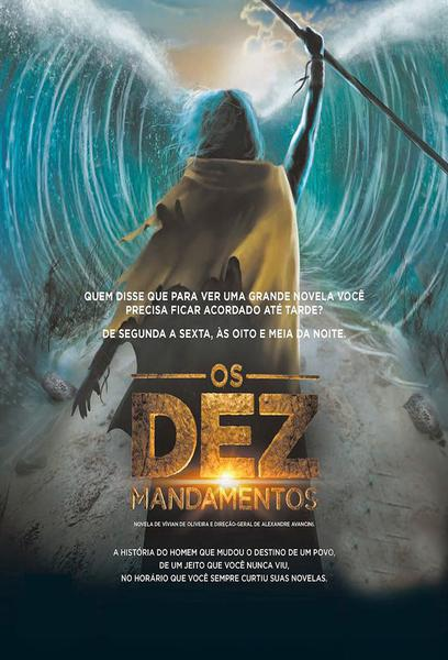 TV ratings for Os Dez Mandamentos in Netherlands. RecordTV TV series