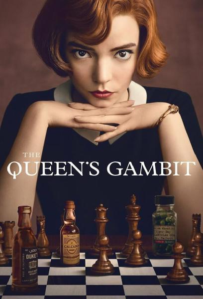 TV ratings for The Queen's Gambit in Denmark. Netflix TV series