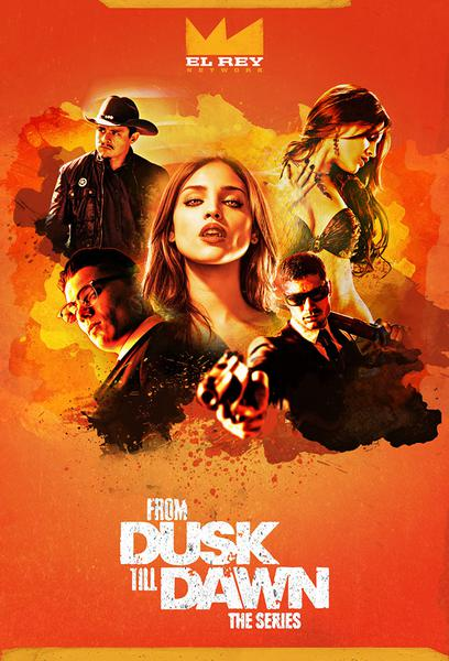 TV ratings for From Dusk Till Dawn: The Series in Germany. El Rey Network TV series