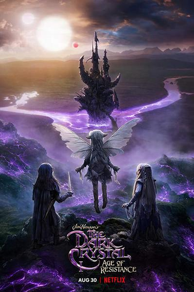TV ratings for The Dark Crystal: Age Of Resistance in France. Netflix TV series