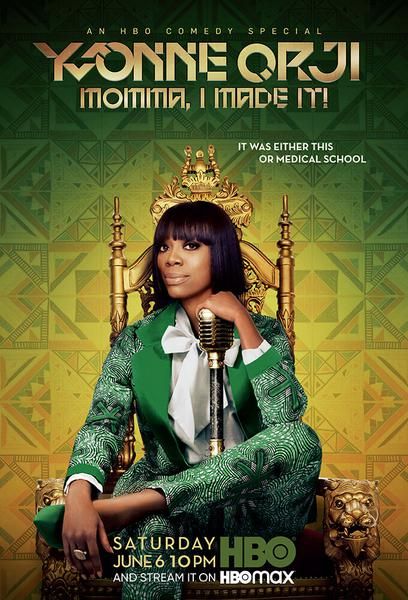 TV ratings for Yvonne Orji: Momma, I Made It! in the United States. HBO Max TV series