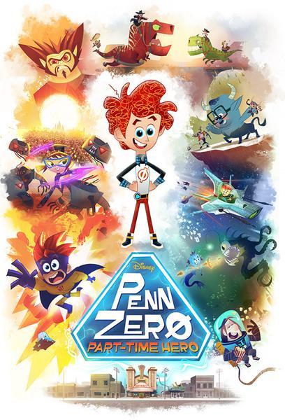 TV ratings for Penn Zero: Part-time Hero in the United States. Disney XD TV series