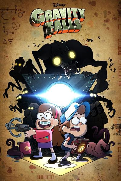 TV ratings for Gravity Falls in New Zealand. Disney Channel TV series
