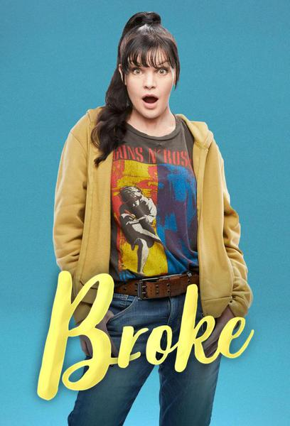 TV ratings for Broke in France. CBS TV series