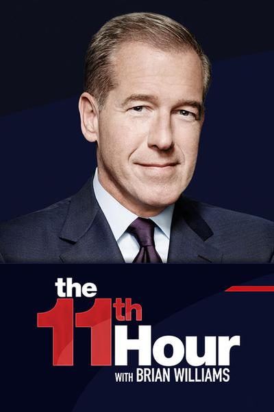 TV ratings for The 11th Hour With Brian Williams in Australia. MSNBC TV series