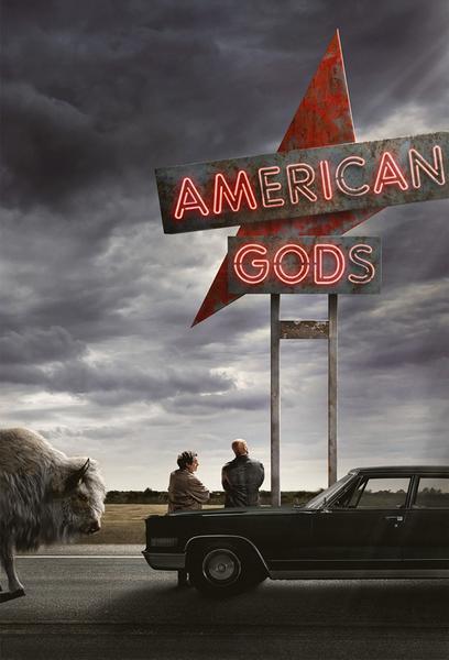 TV ratings for American Gods in Denmark. Starz TV series