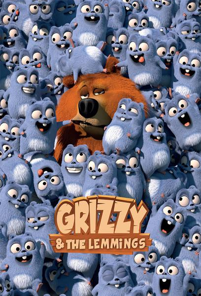 TV ratings for Grizzy and The Lemmings in Canada. Télé-Québec TV series