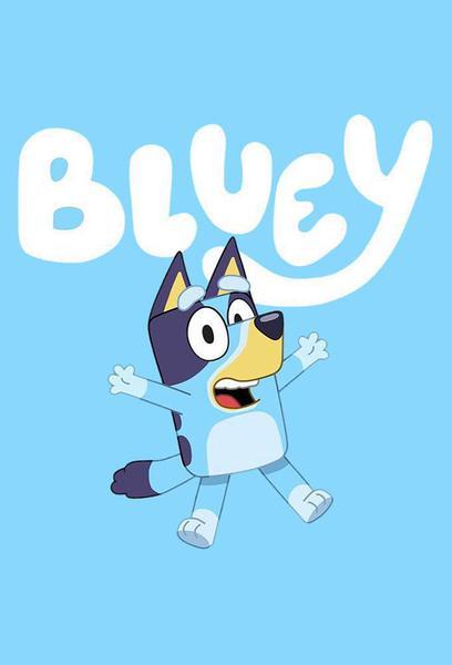 TV ratings for Bluey in Australia. ABC Kids TV series