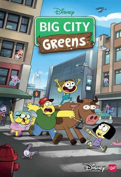 TV ratings for Big City Greens in Chile. Disney Channel TV series