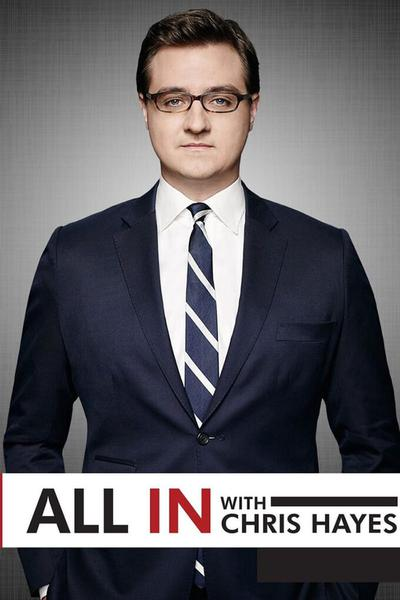 TV ratings for All In With Chris Hayes in France. MSNBC TV series