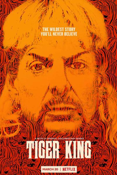 TV ratings for Tiger King: Murder, Mayhem and Madness in the United States. Netflix TV series
