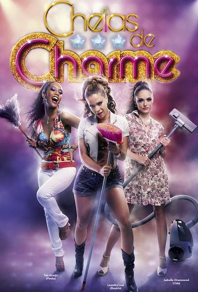 TV ratings for Cheias De Charme in France. Rede Globo TV series